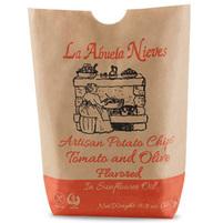 LA ABUELA NIEVES Chipsy tradycyjne ziemniaczane o smaku pomidorów i oliwek