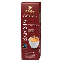 TCHIBO Cafissimo Barista Espresso Kawa palona mielona (10 x 8 g)