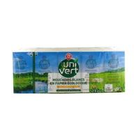 WIODĄCA MARKA Uni Vert Ekologiczne chusteczki higieniczne białe (15 x 9 szt.)