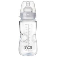 LOVI Medical+ Butelka z dynamicznym smoczkiem 330 ml (9m+)