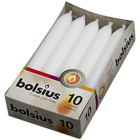 BOLSIUS Świeca torpeda biała (5h palenia)