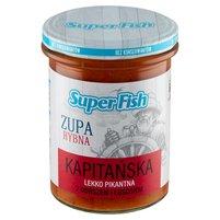 SuperFish Zupa rybna kapitańska Lekko pikantna z dorszem i łososiem