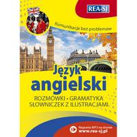 REA Język angielski. Rozmówki, gramatyka, słowniczek z ilustracjami (okładka miękka)