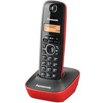 PANASONIC Telefon bezprzewodowy KXTG1611 Czerwony