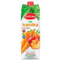 FORTUNA Karotka Sok marchew brzoskwinia jabłko + witaminy A C E