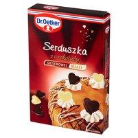DR. OETKER Serduszka z czekolady deserowej i białej
