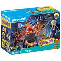 PLAYMOBIL Scooby Doo! Przygoda w kotle czarownicy Zestaw figurek 70366 (5+)