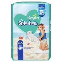PAMPERS Splashers Pieluchy do pływania Rozmiar 4-5 (9-15 kg)