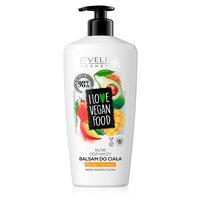 EVELINE I Love Vegan Food Odżywczy balsam do ciała mango awokado