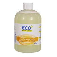 ECO+ Mydło w płynie o zapachu milk & honey.