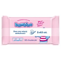 BAMBINO Chusteczki dla niemowląt (2 x 63 szt.)
