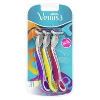GILLETTE Venus 3 Maszynki jednorazowe do golenia dla kobiet