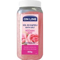 ON LINE Odprężająca Sól do kąpieli Różana