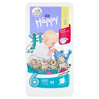 BELLA Baby Happy Big Pack Pieluszki jednorazowe 6 Junior Extra (16 kg)