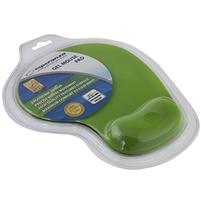 ESPERANZA Żelowa podkładka pod mysz nadgarstek zielona
