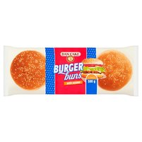 DAN CAKE Bułki pszenne do hamburgerów z sezamem (6 x 50 g)