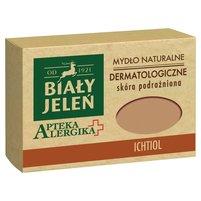 BIAŁY JELEŃ Apteka Alergika Dermatologiczne mydło naturalne Ichtiol