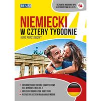 REA Niemiecki w cztery tygodnie. Kurs podstawowy z nagraniami dialogów (okładka miękka)