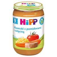 HiPP BIO Kluseczki z pomidorami i cielęciną po 9. miesiącu
