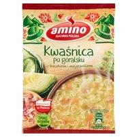 AMINO Zupa błyskawiczna kwaśnica po góralsku z boczkiem i majerankiem