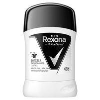REXONA Men invisible on black+white clothes Antyperspirant w sztyfcie