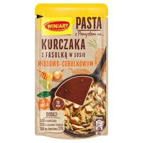 WINIARY Pasta z pomysłem na... kurczaka z fasolką w sosie miodowo-cebulkowym