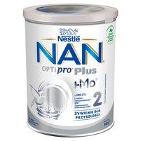 NAN OPTIPRO Plus 2 HM-O Mleko modyfikowane w proszku dla niemowląt powyżej 6. m-ca