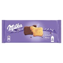 MILKA Choco Moo Ciastka oblane czekoladą mleczną z mleka alpejskiego