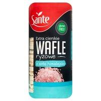SANTE Extra cienkie wafle ryżowe z solą himalajską
