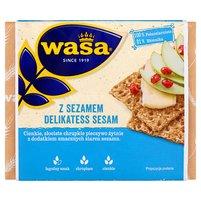 WASA Delikatess Sesam Pieczywo chrupkie z sezamem