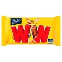 E. WEDEL WW 4 wafelki przekładane nadzieniem orzechowym w mlecznej czekoladzie