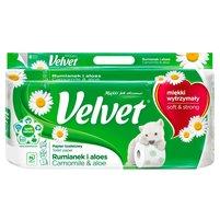 VELVET Naturalnie Pielęgnujący rumianek i aloes Papier toaletowy