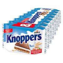 KNOPPERS Wafelek mleczno-orzechowy (8 sztuk)