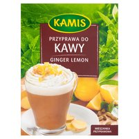 KAMIS Ginger Lemon Przyprawa do kawy