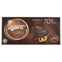 WAWEL Czekolada gorzka z kandyzowaną skórką pomarańczy 70% cocoa