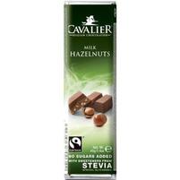 CAVALIER Baton z belgijskiej mlecznej czekolady z orzechami laskowymi