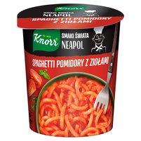 KNORR Smaki Świata Neapol Spaghetti pomidory z ziołami