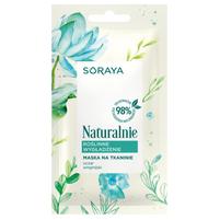 SORAYA Naturalnie Maska na tkaninie Roślinne wygładzenie