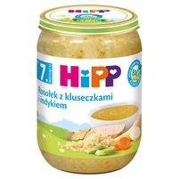 HiPP BIO Rosołek z kluseczkami i indykiem po 7. m-cu