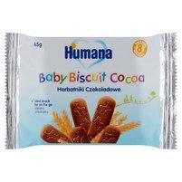 HUMANA Herbatniki czekoladowe od 8. m-ca (8 sztuk)