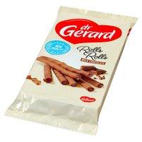 DR GERARD Rolls Rolls Rurki waflowe kakaowe z kremem z mleczną czekoladą