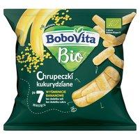 BOBOVITA Bio Chrupeczki kukurydziane wyśmienicie bananowe po 7 miesiącu