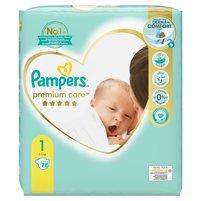 PAMPERS Premium Care Rozmiar 1 (2kg-5kg)
