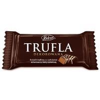 VOBRO Batonik truflowy w czekoladzie dekorowany białą czekoladą