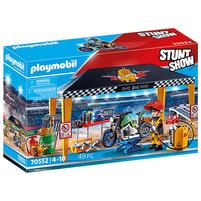 PLAYMOBIL Stunt Show Pokaz kaskaderski: Namiot serwisowy 70552 (4+)
