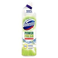 DOMESTOS Total Hygiene Lime Fresh Żel do czyszczenia toalet