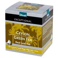 DILMAH Exceptional Zielona cejlońska herbata (20 tb.)