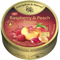 CAVENDISH & HARVEY Raspberry & Peach Cukierki z nadzieniem
