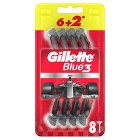 GILLETTE Blue3 Nitro Jednorazowa maszynka do golenia dla mężczyzn