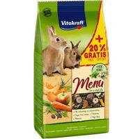 VITAKRAFT Menu + Vita Herbs Karma pełnoporcjowa dla królików